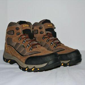 Hi-Tec Men's 7198 Skamania Mid Waterproof Leather Hiking Boots Dri-Tec Sz 10.5