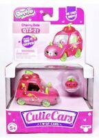 New Shopkins Cutie Cars Cherry Ride QT3-21 Die Cast Includes Mini 2018