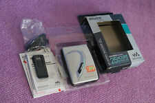 Sony WM-EX 194 Vintage Walkman Personal Cassette Player Boxed with Headphones