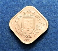 1975 Netherland Antilles 5 Cents - Fantastic Coin - Full Luster - See PICS