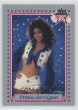 1992 Enor Sports Products Dallas Cowboys Cheerleaders Preea Jernigan #20