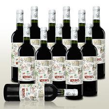 12 Fl. Gute-Laune-Rotwein aus Spanien, Wein trocken, Rotwein Nembus Tinto