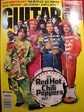 GUITAR WORLD MAGAZINE AUGUST 2002 35th Ann. Beatles SGT PEPPER RED HOT CHILI PEP