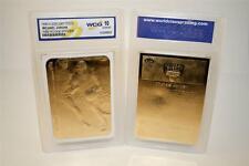 MICHAEL JORDAN 1998 Fleer '86 ROOKIE STICKER 23KT Gold Card - Graded GEM MINT 10