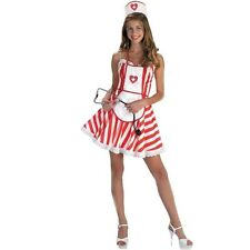 Handy Candy Striper Sexy Nurse Costume Outfit Dressup/Roleplay. Size Large 12-14