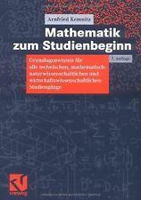 Mathematik zum Studienbeginn: Grundlagenwissen für alle ... | Buch | Zustand gut