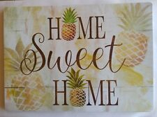 "HOME SWEET  HOME - Table protector Placemats - Foam  18""x13"" Set of 4"