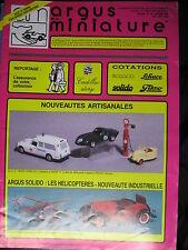 ARGUS DE LA MINIATURE 109  SOLIDO  SCHUCO TEKNO CADILLAC ELIGOR WIKING