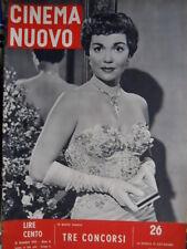 Cinema Nuovo 26 1953 Jane Wyman. Charlton Heston. Sopraluogo a Sanfrediano [C52]