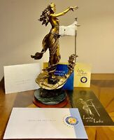 The Franklin Mint Lady Of The Lake Bronze Sculpture By Emily Kaufman 3607/9500