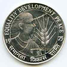 India Republic 50 Rupee 1975 B  silver proof KM-256  lotaug6788