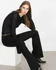 Zara Flared Other Casual Trousers for Women