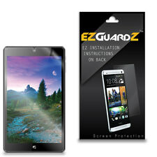 2X EZguardz Clear Screen Protector Shield 2X For NuVision 8 Tablet TM800 P610L