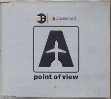 DB BOULEVARD - Point of view - CD SINGLE 2001 USATO OTTIME CONDIZIONI