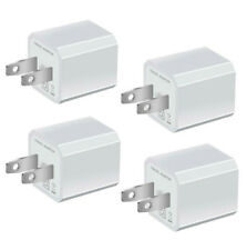 Power Adapter 4x USB Wall Charger AC Home US Plug FOR iPhone 6 7 8 X Samsung Lg