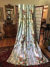 Custom Polished Cotton Drapes Curtains Hydrangeas!