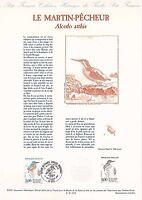 Document Philatélique Timbre 1er Jour : 14/09/ 1991 - Le Martin-Pêcheur