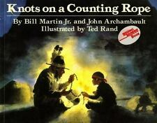 KNOTS ON A COUNTING ROPE Bill Martin, John Archambault FREE SHIP children's book
