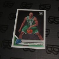2019 Grant Williams Panini Optic Rated Rookie Card Boston Celtics #157