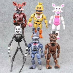 FNAF Five Nights at Freddy's Collectable Removable Action Figure Toys Kids Gift