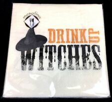 Halloween Cocktail Napkins- 40 count Drink Up Witches