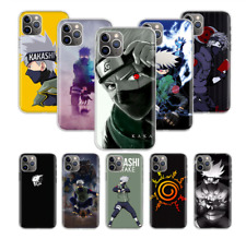 Anime Naruto Kakashi teléfono caso cubierta de piel de dibujos animados para iPhone 11 Xs Max XR 8 7 6