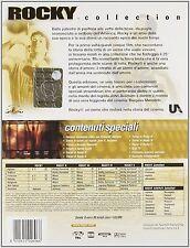 ROCKY COLLECTION Cofanetto 5 dvd - edizione speciale 25° anniversario