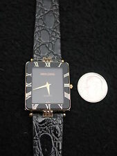 Simon Chang Watch Leather Gold, France, ETA Swiss 6 Jewel Quartz