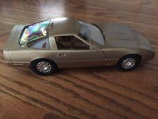 1986 Corvette Dealer Promo, Met Gold,  Plastic, Scale 1:25- New