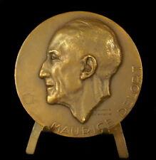 Médaille au docteur Maurice Delort Hopital Sadiki Tunis Raymond Delamarre Medal