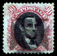 US.#122  USED .90c PICTORIAL ISSUE OF 1869 - VF -  $2000.00 (ESP#9017)