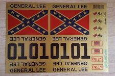 Tamiya RC Car General Lee 10th Scale 1/10 Gold Decals Stickers Full Kit Duke Has