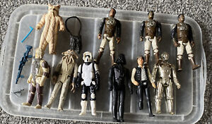 Vintage Star Wars Action Figures & Accessories. Kenner /Palitoy 1977-1983