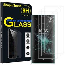 "3X Schutzglas Für Sony Xperia XA2 Plus 6.0""  Echtglas Display Schutzfolie"