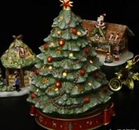 Villeroy & Boch Toy's Delight Christmas Tree with Music Box ~NEW IN ORIG BOX