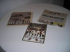 2011 Stanley Cup Sports Illustrated Magazine and Newspapers