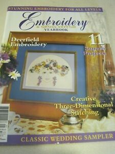 DEERFIELD EMBROIDERY & CROSS STITCH Yearbook Vol 9 No 4 11 Projects 98 page