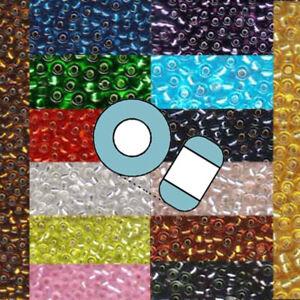 Miyuki 11/0 Glass Seed Beads Japanese Rocailles Silver Lined 24 grams U-Pick