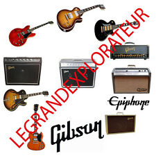 Gibson & Epiphone Repair & Service Schematics Manuals (470 PDF manual s on DVD)