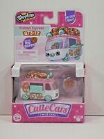 Shopkins Cutie Cars QT3-12 Series 3 PRETZEL EXPRESS New! Sealed!
