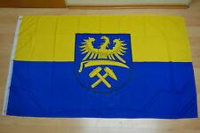 XXL Oberschlesien Flagge Fahne Fahnen 1,50x2,50m  Neu mit Ösen Schlesien