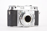 Voigtlander Prominent 35mm Film Camera Body No Lens for PARTS OR REPAIR V65