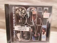 BON JOVI  MOST REQUESTED SACD 548 PROMO ONLY SAMPLER CD (14 SONGS)