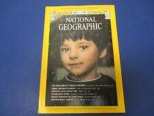 National Geographic Magazine, April 1974, The England of Charles Dickens w/map