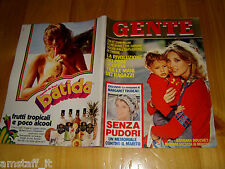 GENTE=1979/17=BARBARA BOUCHET=GLORIA GUIDA=UBALDO LAY=GOLF CABRIOLET=THIENE=