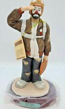 Emmett Kelly Jr Flambro The Pilot Professional Series Clown Figurine 9604
