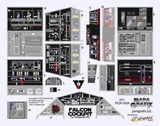Paragrafix PGX193A reemplazo cokckpit calcomanías para etiquetas PGX193 dañado