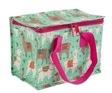 Floral Vintage aislado almuerzo bolso más fresco bolsas para niños niños llama Reciclado