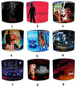 Horror Lampshades Ideal To Match Nightmare On Elm Street Films Movies Wall Art