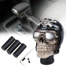 Skull Head Universal Shifter Gear Stick Lever Shift Knob Manual Type Car Auto UK